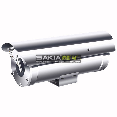 Stainless Steel Explosion Proof CCTV Camera For Ultra Lower Temperature Area